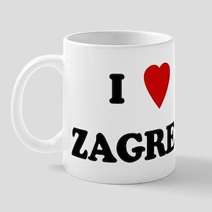 I Love Zagreb Mug