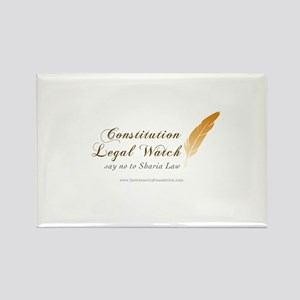 Constitution Legal Watch Rectangle Magnet