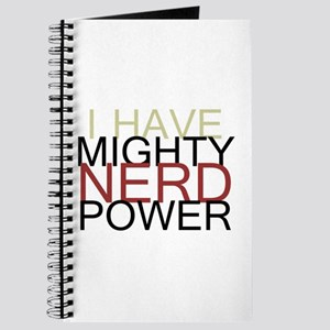 MIGHTY NERD POWER Journal