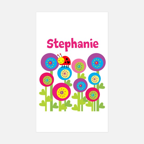 Garden Personalized Sticker (Rectangle 10 pk)