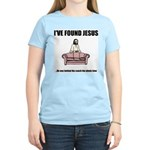 I've Found Jesus Funny T-Shir Women's Pink T-Shirt