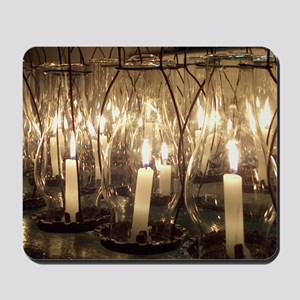 Gosport Chapel Candles Mouse Pad