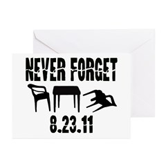 NEVER FORGET Greeting Cards (Pk of 20)