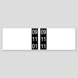 911 tenth Sticker (Bumper)