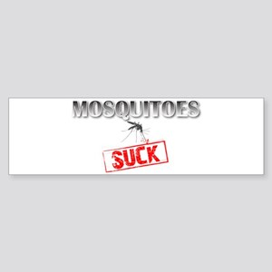 Mosquitoes SUCK funny graphic Sticker (Bumper)