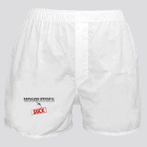 Mosquitoes SUCK funny graphic Boxer Shorts