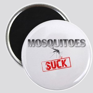 Mosquitoes SUCK funny graphic Magnet