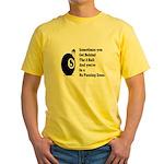 8 Ball Yellow T-Shirt