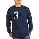 8 Ball Long Sleeve Dark T-Shirt