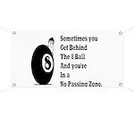 8 Ball Banner