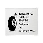 8 Ball Throw Blanket