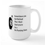 8 Ball Large Mug