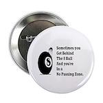 """8 Ball 2.25"""" Button (10 pack)"""