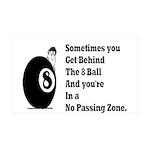 8 Ball 38.5 x 24.5 Wall Peel