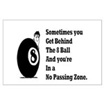 8 Ball Large Poster