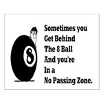 8 Ball Small Poster