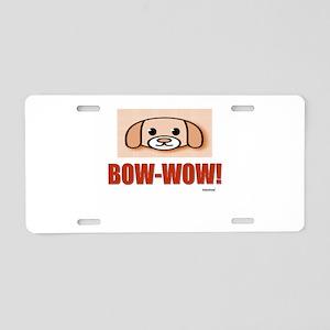 Pet Sentiments Aluminum License Plate