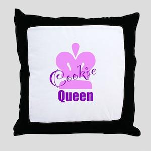 Cookie Queen Throw Pillow