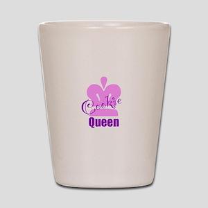 Cookie Queen Shot Glass