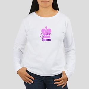 Cookie Queen Women's Long Sleeve T-Shirt