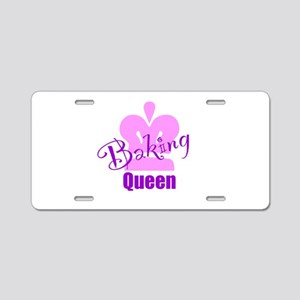 Baking Queen Aluminum License Plate