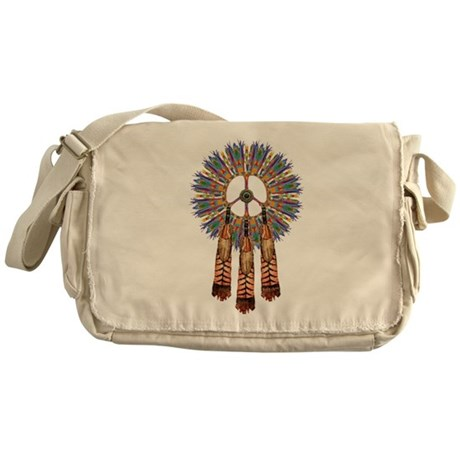 First People Peace Messenger Bag