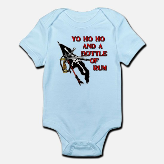Yo Ho Ho Pirate Infant Bodysuit