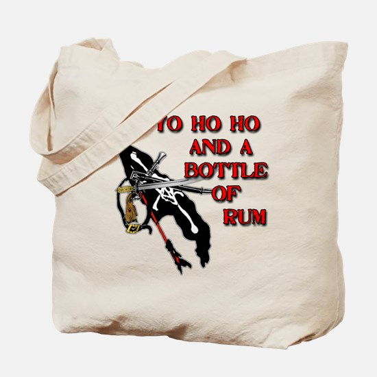 Yo Ho Ho Pirate Tote Bag