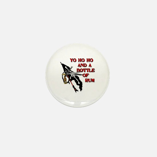 Yo Ho Ho Pirate Mini Button
