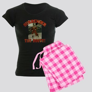 Surrender the Booty! Women's Dark Pajamas