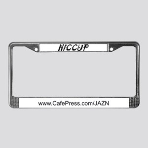 HICCUP License Plate Frame