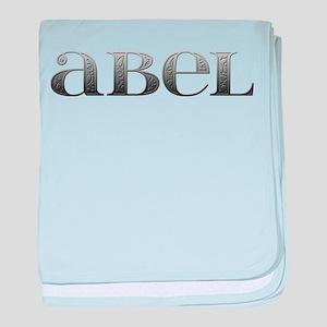 Abel Carved Metal baby blanket