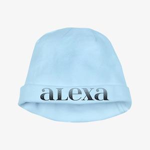Alexa Carved Metal baby hat