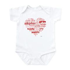 Adoption Adjectives Onesie