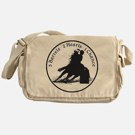 Three Barrels Messenger Bag