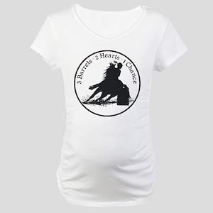 Three Barrels Maternity T-Shirt