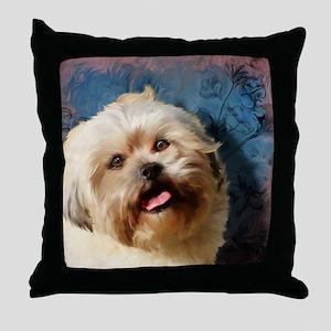 Shih-poo Throw Pillow