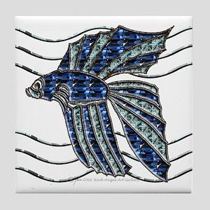 Beta Fish Tile Coaster