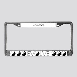 Evolution Values License Plate Frame