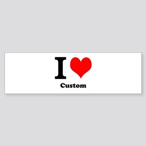 Custom Love Sticker (Bumper)