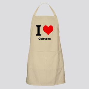 Custom Love Apron