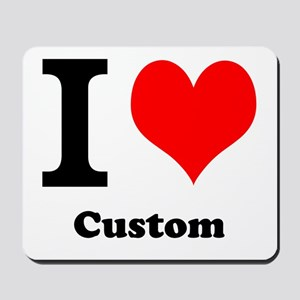 Custom Love Mousepad