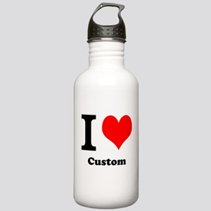 Custom Love Stainless Water Bottle 1.0L