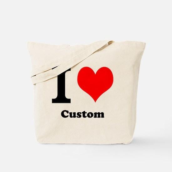 Custom Love Tote Bag
