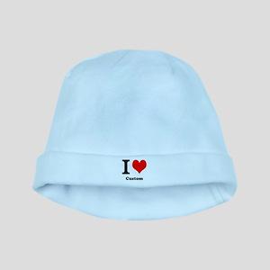 Custom Love baby hat