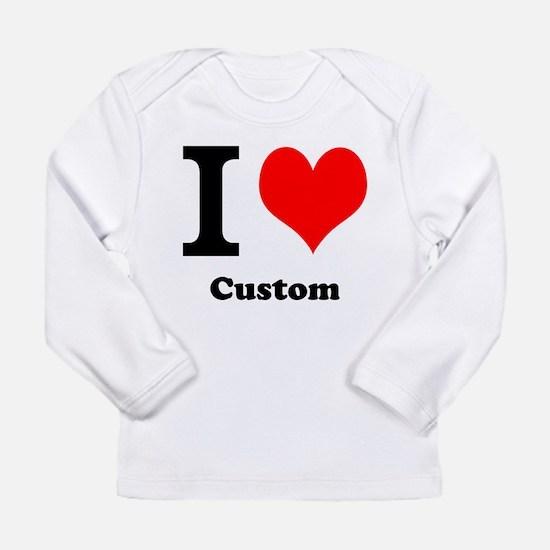Custom Love Long Sleeve Infant T-Shirt