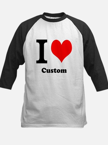 Custom Love Kids Baseball Jersey
