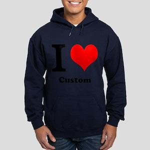 Custom Love Hoodie (dark)