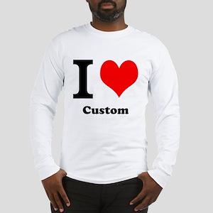 Custom Love Long Sleeve T-Shirt