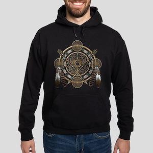 Dreamcatcher Medicine Wheel Hoodie (dark)